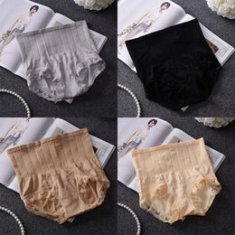 $enCountryForm.capitalKeyWord Australia - High Quality High Waist Women Panties Seamless Underwear for Postpartum Belly Lace Modal Body Shapers Women