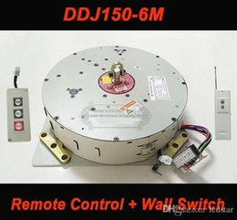 Light Winch System NZ - Wall Remote Control Hoist Crystal Chandelier Hoist Lighting Lifter Electric Winch Light Lifting System Lamp Motor DDJ150-6m cable