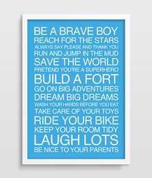 Playroom Art Australia - Little Boys Rules Sign Nursery Art Print Boys Room Decor Nursery Poster Printed picture Playroom Decor Newborn Baby Boy Gift