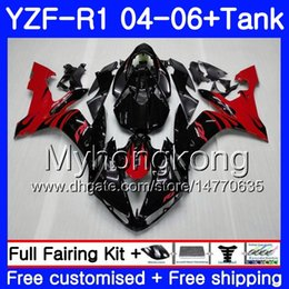 $enCountryForm.capitalKeyWord Australia - Body+Tank For YAMAHA Red flames stock YZF R 1 YZF-1000 YZF 1000 YZFR1 04 05 06 232HM.19 YZF1000 YZF-R1 04 06 YZF R1 2004 2005 2006 Fairing