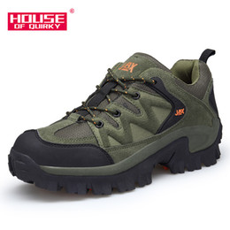 $enCountryForm.capitalKeyWord Australia - Men Outdoor Sports Camping shoes for Men Tactical Hiking Upstream Shoes For Breathable Waterproof Coating Rubber Sole