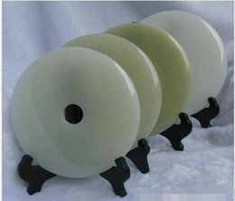 Wholesale Afghan jade security buckle ornaments jade buckle jade bi big living room office
