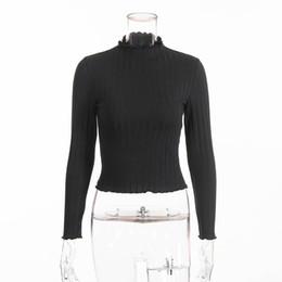 Women Sweater 2018 Autumn Pure Slim Cotton Casual Pullover Stringy Selvedge  Girls Elegant Cute Knitwear New Korean Style Fashion d3399d9ecf38