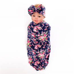 e3333037 Baby Girl Boy Clothes 2018 Bedding Accessories Sleeping Bag Muslin Swaddle  Blanket Floral Print Newborn Props Christmas Gift