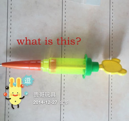 Used Toys Wholesale Australia - Multi Function Pen ? water gun Needle pen used baby toy gift toys for Children Z855
