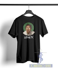 Drake T Shirts Australia - DAMN KENDRICK LAMAR LOYALTY T SHIRT K-Dot DRAKE RAP SONG TITLE multi color tee