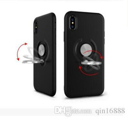 Discount apple handset Creative application of iPhone7X mobile phone shell vehicle magnet ring support apple 6splus handset wholesale