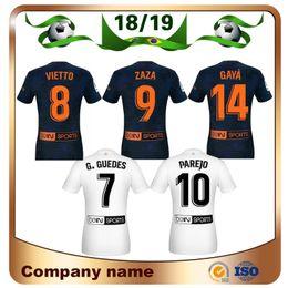 1b3cca0bb 18 19  10 PAREJO Soccer Jerseys 2019 19 RODRIGO 9 ZAZA Soccer shirt  KONDOGBIA C.SOLER G.GUEDES S.MINA Custom football uniform
