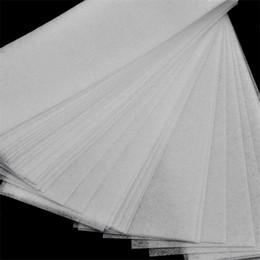 Wholesale Strip Wax Australia - Big Discount Hair Removal Depilatory Wax Strip Paper Nonwoven Epilator Paper Waxing Salon Spa Paper Card In Stock