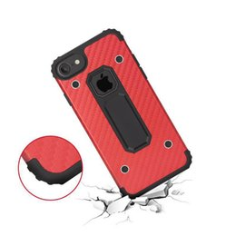 $enCountryForm.capitalKeyWord NZ - For iPhone 8 Plus MOTOMO Armor Bracket Phone Covers Hybrid Clip Kickstand cover For iPhone 8 Case ShockProof Phone Cover with package