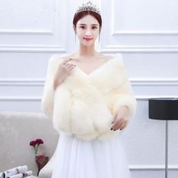 0e3a651142695d9 JaneVini шампанское свадьба пожимает плечами искусственного меха свадебный  Шаль Болеро свадебное обручальное накидки Куртка для вечерних платьев Болеро  ...