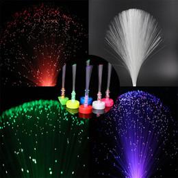 f269fa3af8a 10pcs LED Fibre Petite Bougie Lumière Mini Bougie Fibre Optique Sapin De  Noël Avec Pile Bouton (Emballage Boîte De Couleur + Couleur Aléatoire)