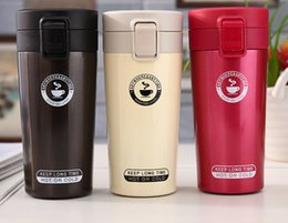 $enCountryForm.capitalKeyWord NZ - 3Colors 360ML Mug Coffee Cup Stainless Steel Vacuum Flasks Thermoses My Water bottle Insulated Thermo cup Travel Car Mugs