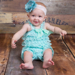 a02fe835263 Lace Petti Romper Girls Australia - Baby Girls Rompers Cute Petti Ruffled  Lace Clothes Infant Toddler