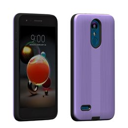 Wholesale boost phones online shopping - Armor Hybrid Brushed Carbon Case For Samsung Galaxy J3 Star J3 J3 Achieve Boost PC TPU Phone Cover D