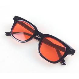 korea women sunglasses 2019 - Hot Fashion Sunglasses Women Men Brand Sun Glasses South Korea Music Star Style Retro Sunglasses Red Mirror Eye Glasses