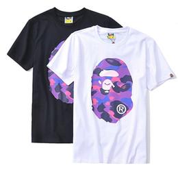 Wholesale mens camo t shirt for sale – custom 18SS Apes head tshirt pullover short camo a bathing mens designer t shirts aape ape T SHIRT HIP HOP shirt for man vetements