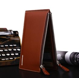 Business Card Holder Cell Phone Case Canada - Leather Wallet 2018 Hot Litchi Pattern Mens Wallet Card Slot Card Holder Card Holder Phone Case Wallet