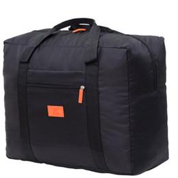 $enCountryForm.capitalKeyWord Australia - Fashion Folding HandBag Nylon Waterproof Bag Large Capacity Hand Luggage Business Trip Traveling Bags Multi-function Bag