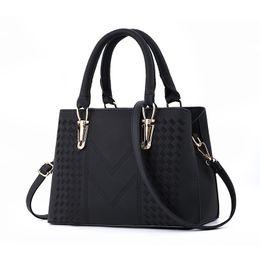 Ladies muLti pocket handbags online shopping - designer handbagsfashion women luxury bags MICKY KEN lady PU leather handbags brand bags purse shoulder tote Bag female