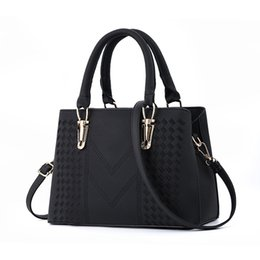 Discount leather handbag shoulder bags - famous brand Designer fashion women luxury bags MICKY KEN lady PU leather handbags brand bags purse shoulder tote Bag fe