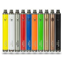 Spinner ii mini online shopping - Vision Spinner II Twist Battery mah Capacity VV Mini V Voltage E Cigarette Vape Pen Ego EVOD Thread