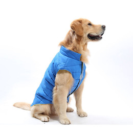 Clothes For Chihuahua Dogs Canada - wholesale 2018 New Winter Pet Dog Clothes Warm Down Jacket Waterproof Coat Available Both Side for Chihuahua Medium Large Dog Costume