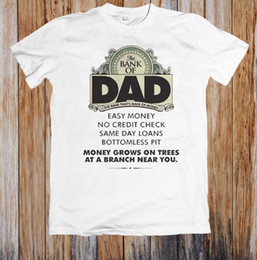 Money Shirts Australia - THE BANK OF DAD EASY MONEY FUNNY UNISEX T-SHIRT