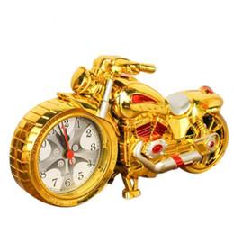 Atacado Fresco Motocicleta Moto Design Despertador Relógio de Mesa Decoração de Mesa Drop Shipping Casa Criativa Presente de Aniversário Livre DHL em Promoção
