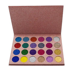 $enCountryForm.capitalKeyWord Canada - 24 Colors Glitter Eyeshadow Palette Shimmer Waterproof Long-lasting Matte Pigment Diamond Eye Shadow Makeup Cosmetic DHL free shipping
