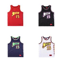 2c5508fb3 18ss Luxury Europe Box Logo Bolt Basketball Jersey Tshirt Fashion Men Women  Sleeveless T Shirt Casual Tee Top Vest