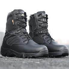 $enCountryForm.capitalKeyWord NZ - Men Military Army Boots Zipper Tactical Boots Delta Desert Combat Boats Outdoor Shoes Snow Boots Hunting Trekking Hiking Leather Shoes