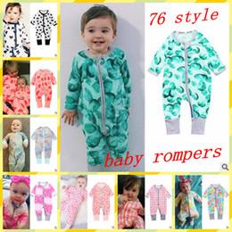 bc9111773 BaBy Boys winter onesies online shopping - Kids Designer Clothes Girl  Cartoon Rompers Boys Animal Print