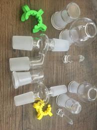 $enCountryForm.capitalKeyWord Australia - TOP QUALITY Reclaim Ash Catcher Adapter 14mm 18mm Ashcatcher for Glass Water Pipe Drop Down Reclaimer Reclaim Ash Catcher Adapter