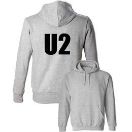44f67d0fc611 U2 Alternative Rock Band Design Sweatshirts Women s Men s Cotton Hoodies  Gray White Red Yellow Pullovers Tops Fashion Streetwear