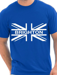 Jack Gifts Australia - Brighton Union Jack Proud To Be Funny Gift Mens T Shirt Size S-XXL