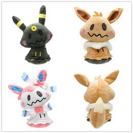 $enCountryForm.capitalKeyWord NZ - Umbreon Eevee Sylveon Soft Stuffed Toys Kids Gift Cartoon Mini Mimikyu Plush Dolls Multi Pattern Hot Sale 30km WW