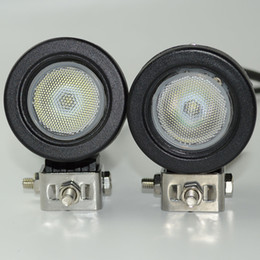 $enCountryForm.capitalKeyWord NZ - 2pcs 10W LED Work Light Driving Light Car SUV ATV 4WD AWD 4X4 Auto Tractor Offroad Round Motorcycle Truck Bike Fog Headlight