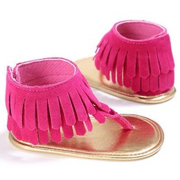 Baby Girl Cute Sandals Australia - PUDCOCO Fashion Tassel Decoration Cute Infant Girls Summer Sandals Toddler Baby Princess Soft Sole Shoes 3 Sizes