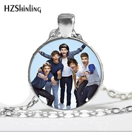 $enCountryForm.capitalKeyWord UK - One Direction Jewelry Vintage One Direction Pendant Necklace Fan Favorite Statement Necklace A-064 HZ1