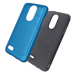 Wholesale cricket phones for sale - Group buy Armor case tpu pc For LG Aristo For Motorola E5 Supra E5 Cruise G7 Supra for Alcatel onyx cricket Phone Case B