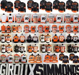 Flyers voracek jersey online shopping - Philadelphia Flyers Claude Giroux Jersey Wayne Simmonds Shayne Gostisbehere Voracek Patrick Bobby Clarke Eric Lindros Travis Konecny