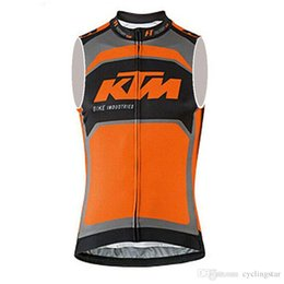 Women's cycling clothing online shopping - KTM Cycling jersey MTB bicycle vest sleeveless cycling clothing ropa ciclismo hombre summer maillot ciclismo mtb bike sportswear C2809