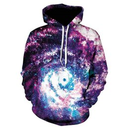 Space Galaxy Hoodies Men/Women Sweatshirt Hooded 3d  Clothing Hoody Print Stars Nebula Autumn Winter Tops Jacket