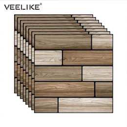 Backsplash Tiles For Kitchens Australia - 3D PVC Wall Panels Self Adhesive Wallpaper for Kitchen Backsplash Tiles 3D Brick Wall Paper for Living Room Bathroom Decor