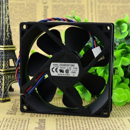 fan powered Canada - For Delta 9025 12V 0.19A 9CM 3 Line Mute Power Computer Case Fan DSB0912M