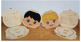 Personalized baby gifts wholesale australia new featured creative baby teeth wooden storage box color painting girls boys image kids deciduous tooth save wood box gift trave kit english version negle Gallery