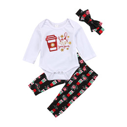 5ec0e1cc759 Newborn Baby Romper Boys Girls Clothes Toddler Outfit Romper+Pants+Headband  3pcs set Flower Red Cup Suit Kid Clothing Baby Boy Girl Boutique