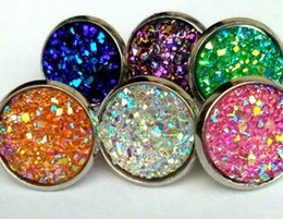 Wholesale kate druzy spade new york Small round Stud Earrings
