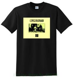 Großhandel Blind Glaube T Shirt Vinyl Cd Abdeckung T Kleine Medium Large Oder Xl Männer Erwachsene T-shirt Kurzarm Baumwolle